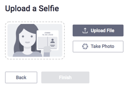 Upload Selfie