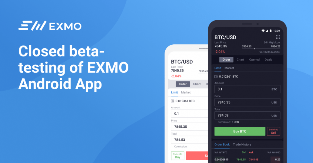 EXMO Mobile App Launch And III Round of EXMO Coin IEO