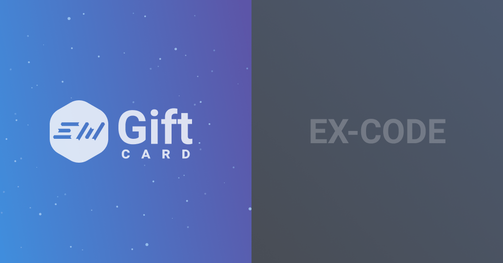 EX-CODE & EXMO Gift Card