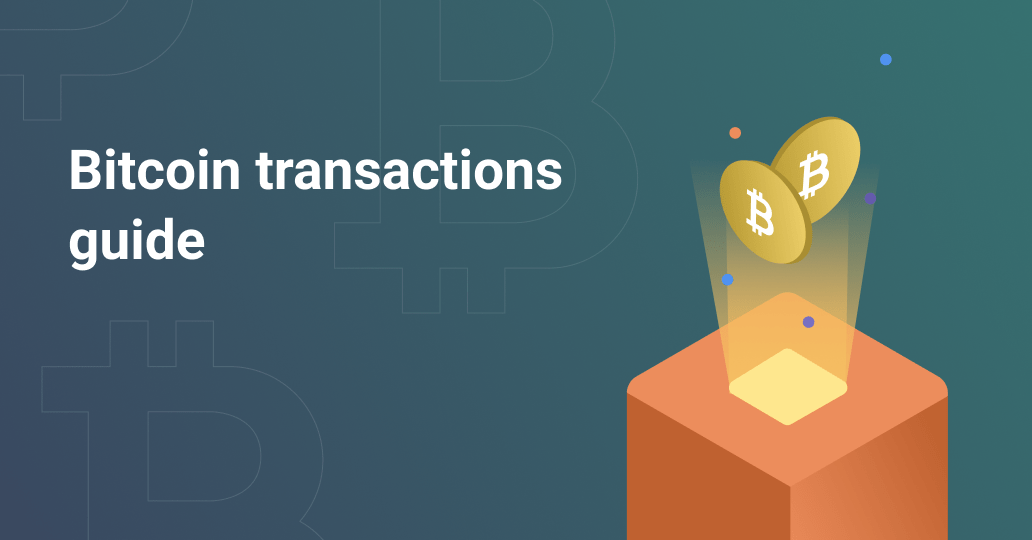 Transactions in BTC blockchain